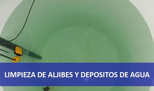 LIMPIEZA DE ALJIBES Y DEPOSITOS DE AGUA MADRD