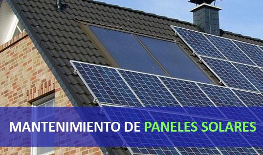 MANTENIMIENTO DE PANELES SOLARES MADRID